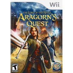 Foto Jogo The Lord of the Rings: Aragorn's Quest Wii Warner Bros
