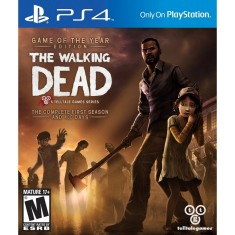 Foto Jogo The Walking Dead PS4 Telltale