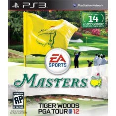 Foto Jogo Tiger Woods PGA TOUR 12: The Masters PlayStation 3 EA