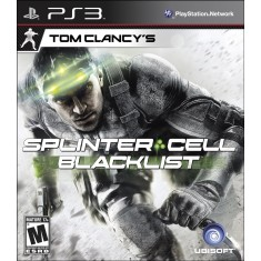 Foto Jogo Tom Clancy's Splinter Cell: Black List PlayStation 3 Ubisoft