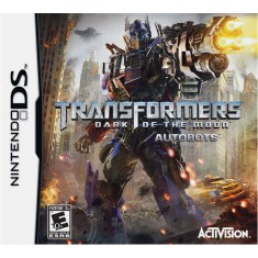 Foto Jogo Transformers 3 Dark Of The Moon Autobots Activision Nintendo DS