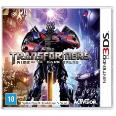Foto Jogo Transformers: Rise of The Dark Spark Activision Nintendo 3DS