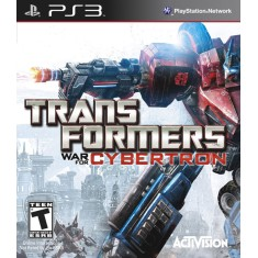 Foto Jogo Transformers: War for Cybertron PlayStation 3 Activision
