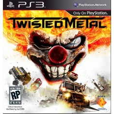 Foto Jogo Twisted Metal PlayStation 3 Sony