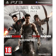 Foto Jogo Ultimate Action: Triple Pack PlayStation 3 Square Enix