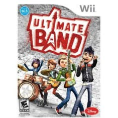 Foto Jogo Ultimate Band Wii Disney