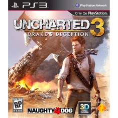 Foto Jogo Uncharted 3: Drake's Deception PlayStation 3 Sony