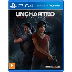 Foto Jogo Uncharted The Lost Legacy PS4 Naughty Dog