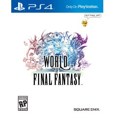 Foto Jogo World of Final Fantasy PS4 Square Enix