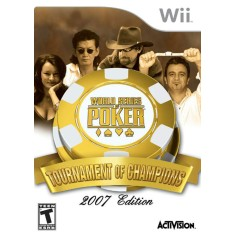 Foto Jogo World Series Poker Tourn Of Champions Wii Activision