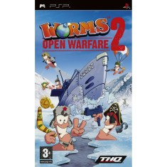 Foto Jogo Worms 2: Open Warfare THQ PlayStation Portátil