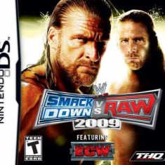 Foto Jogo WWE Smackdown vs. Raw 2009 THQ Nintendo DS