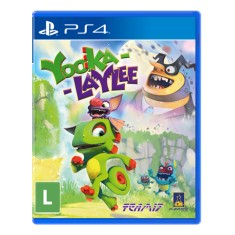 Foto Jogo Yooka-Laylee PS4 Playtonic Games