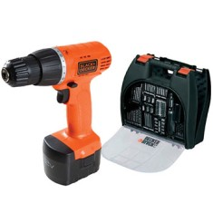 Foto Kit Furadeira / Parafusadeira 3/8 Black&Decker - CD121K100