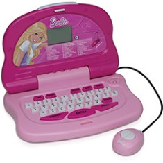 Foto Laptop Infantil Barbie 30 Atividades Candide Fashion