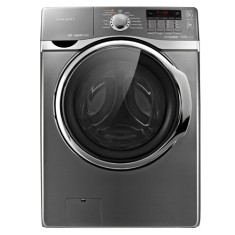 Foto Lavadora Samsung 14kg Steam Eco Bubble WF431ABPXAZ Inox