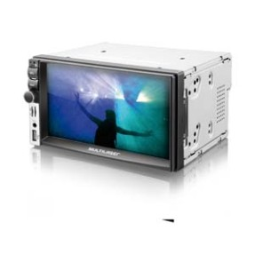 Foto Media Receiver Multilaser P3212 Touchscreen USB