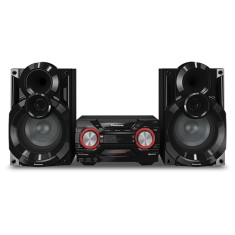 Foto Mini System Panasonic SC-AKX400LBK 550 Watts Ripping USB Bluetooth