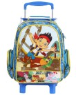 Mochila com Rodinhas Escolar Dermiwil Disney Jake and the Neverland Pirates M 60257