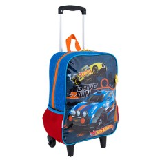 Foto Mochila com Rodinhas Escolar Sestini Hot Wheels Hot Wheels 17M G 64670