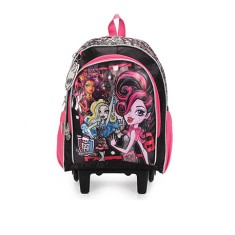 Foto Mochila com Rodinhas Escolar Sestini Monster High 17 Litros Monster High 15Y01 G