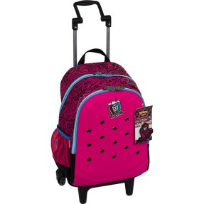 Foto Mochila com Rodinhas Escolar Sestini Monster High Monster High Zoops