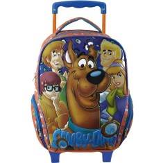 Foto Mochila com Rodinhas Escolar Xeryus Scooby Doo and Friends G 6220