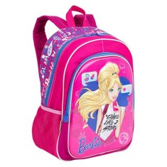 Foto Mochila Escolar E-BLUE Barbie 17X G 64750