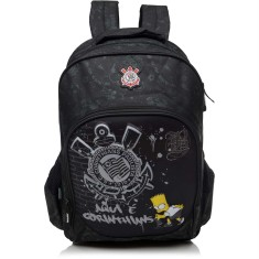 Foto Mochila Escolar PCF Global Os Simpsons Corinthians Bart G