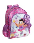 Mochila Escolar PCF Global Rosinha Fada do Campo G 934G04