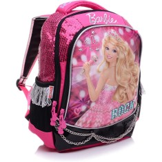 Foto Mochila Escolar Sestini Barbie 20 Litros Barbie Rock N Royals 64345 G