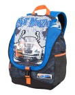 Mochila Escolar Sestini Hot Wheels 27 Litros Hot Wheels 16Y01 GG 64052