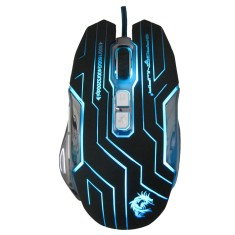 Foto Mouse BlueSensor Gamer USB Dragon War G12 - Leadership