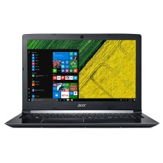 "Foto Notebook Acer A515-51-55QD Intel Core i5 7200U 15,6"" 12GB SSD 480 GB Windows 10 7ª Geração"