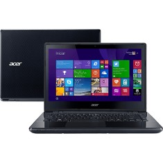 "Foto Notebook Acer E5-471-34W1 Intel Core i3 5005U 14"" 4GB HD 500 GB 5ª Geração"