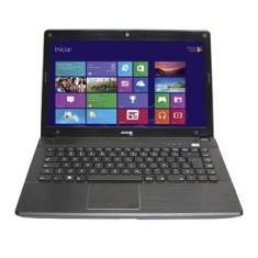 "Foto Notebook CCE X745 Intel Core i7 3612QM 14"" 4GB HD 500 GB"