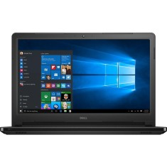 "Foto Notebook Dell I5566-3000BLK-PUS Intel Core i3 7100U 15,6"" 6GB HD 1 TB Touchscreen Windows 10"