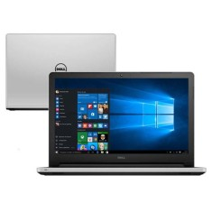 "Foto Notebook Dell I15-5558-B40 Intel Core i5 5200U 15,6"" 8GB HD 1 TB GeForce 920M"
