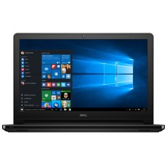 "Foto Notebook Dell i15-5566-A50P Intel Core i7 7500U 15,6"" 8GB SSD 256 GB Windows 10 7ª Geração"