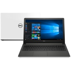 "Foto Notebook Dell i15-5566-A50B Intel Core i7 7500U 15,6"" 8GB SSD 480 GB Windows 10 7ª Geração"