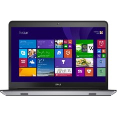 "Foto Notebook Dell I14-5447-A30 Intel Core i7 4510U 14"" 8GB HD 1 TB Touchscreen"