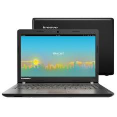 "Foto Notebook Lenovo 100 Intel Celeron N2840 14"" 2GB HD 500 GB Linux"