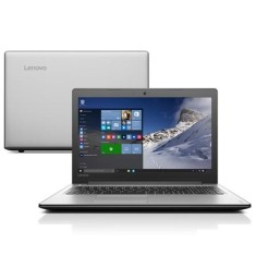 "Foto Notebook Lenovo IdeaPad 300 Intel Core i3 6100U 6ª Geração 4GB de RAM HD 1 TB 15,6"" Windows 10 Home 310"