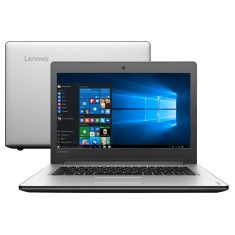 "Foto Notebook Lenovo IdeaPad 300 Intel Core i5 6200U 6ª Geração 4GB de RAM HD 1 TB 14"" Windows 10 Home 310"
