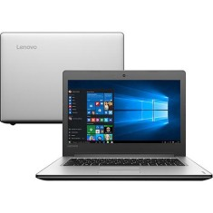 "Foto Notebook Lenovo Intel Core i5 6200U 14"" 4GB HD 1 TB 6ª Geração Windows 10"
