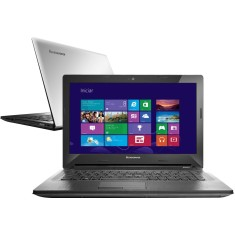"Foto Notebook Lenovo G40 Intel Core i3 4005U 14"" 4GB HD 500 GB Windows 8 4ª Geração"