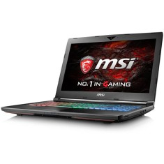 "Foto Notebook MSI GT72VR Intel Core i7 7700HQ 17,3"" 64GB HD 2 TB GeForce GTX 1070 Híbrido"
