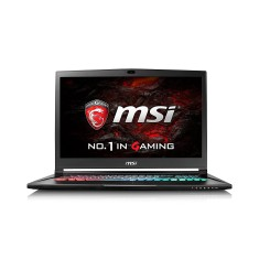 "Foto Notebook MSI GS73 Intel Core i7 7700HQ 17,3"" 16GB HD 2 TB GeForce GTX 1060 SSD 500 GB"