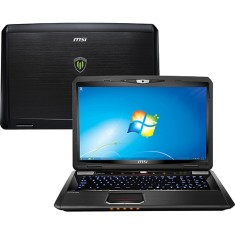 "Foto Notebook MSI WT70-2OK Intel Core i7 4810MQ 17,3"" 16GB HD 1 TB Híbrido"