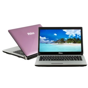 "Foto Notebook Philco 14F-R723LM AMD Brazos C-50 14"" 2GB HD 320 GB"